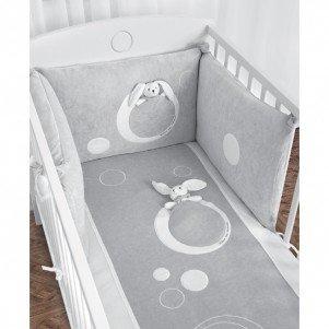 tour de lit bébé gris Câlin Câline Tour de Lit Complet Modulable Maxime Gris: Amazon.fr  tour de lit bébé gris