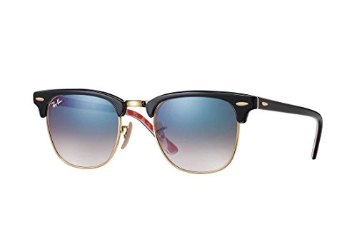 Ray-Ban Clubmaster RB3016 - 12053F - Ban Sunglasses 3016 Ray