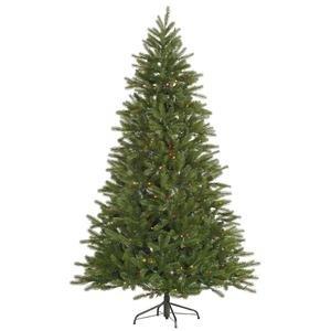 Vickerman 7 Ft Nevada Pine Artificial Christmas Tree w/Multi-Color Lights