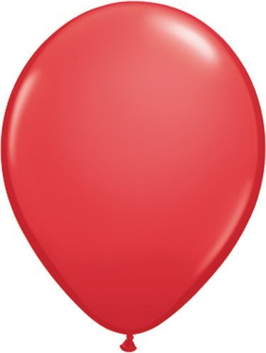 Balloon Sold Single (Qualatex Biodegradable 11 Inch Helium Quality Red Balloons (Package of)