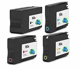 Global Toners compatibles HP 953 x l alta capacidad ...