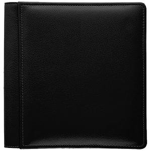 Raika RM 105-F BLK 11 x 12 Large Single Page Photo Album - Black by Raika®