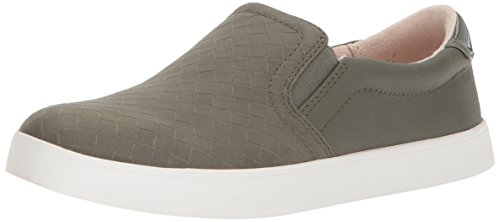 Dr. Scholl's Women's Madison Sneaker, Willow Green Woven Print, 8.5 Medium US
