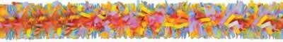 Beistle - 55599-MC - Pkgd Tissue Festooning- Pack of 12 (Tissue Festooning Art)