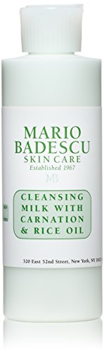 Mario Badescu Cleansing Milk with Carnation & Rice Oil, 6 oz.