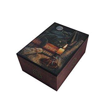 PTC 6.25 Inch Witching Hour Tarot Card Jewelry/Trinket Box Figurine