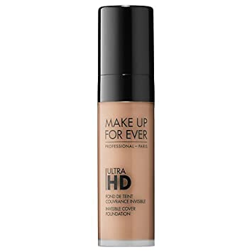 a976640f818e Amazon.com : MAKE UP FOR EVER Ultra HD Invisible Cover Foundation Y335  (Dark Sand) - 0.16 oz. Deluxe Sample : Beauty