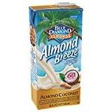 Almond Breeze Almondmilk Blend, Almond Coconut Original, 32 Ounce (Pack of 12)
