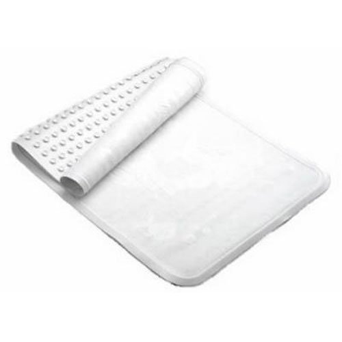 Rubbermaid Commercial Safti Grip Bath Mat Small White Pack Of 4 FG704304WHT