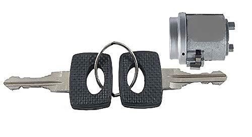 - Hamburg-Technic Mercedes W123 W126 Ignition Lock Cylinder + Keys Set 123462 123 460
