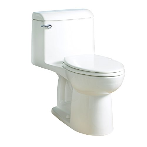 - American Standard 2004314.020 Champion 4 Elongated One-Piece 1.6 GPF with Toilet Seat, Normal Height, White