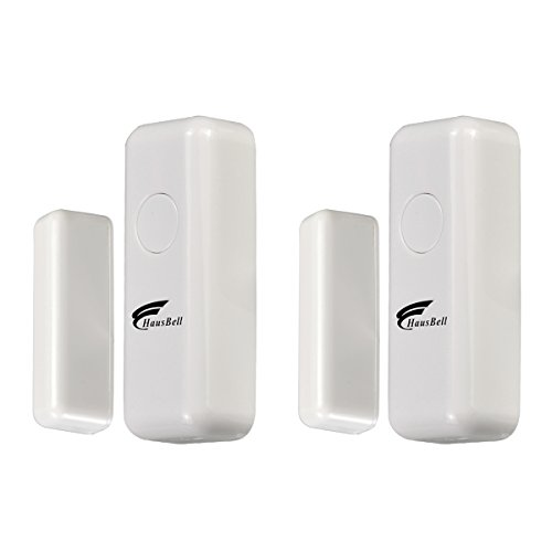 Alarm System 2 Pack Contact Sensor, Hausbell Home Security System,3G & WiFi 2in1 Wireless Smart GSM Security Alarm,only 2 Pack Contact Sensor