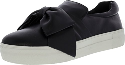 Steve Madden Women's Empire Black Leather Shoe