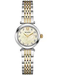 Women's Quartz Stainless Steel Dress Watch (Model: 98P154)