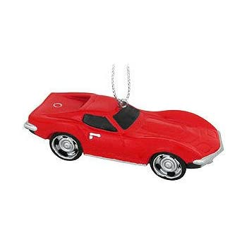 Amazon.com: Kurt Adler Chevrolet LIttle Red Corvette Christmas ...
