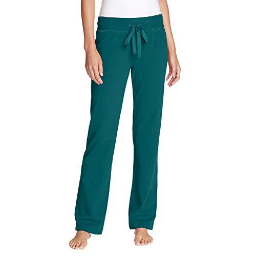 Eddie Bauer Women's Cabin Fleece Pants, Spearmint Regular S ()