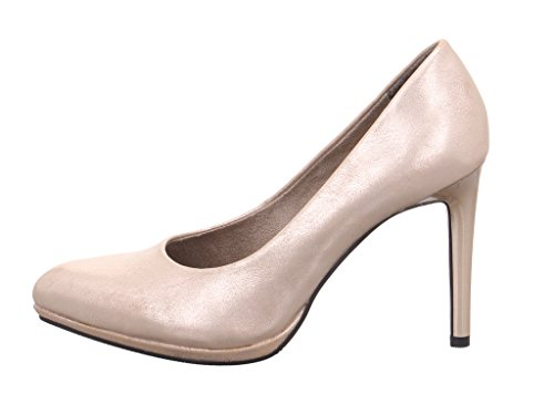 s.Oliver Women's 22419 Closed Toe Heels - 404CHAMPAGNER tjPPF