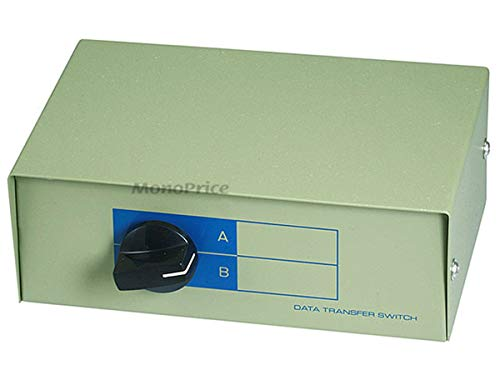 Monoprice 101371 RJ11/RJ12 AB 6P6C 2Way Switch Box