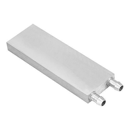(fosa Aluminum CPU Radiator, Water Cooling Block Liquid Water Cooler Heat Sink for PC Laptop(4012012mm))