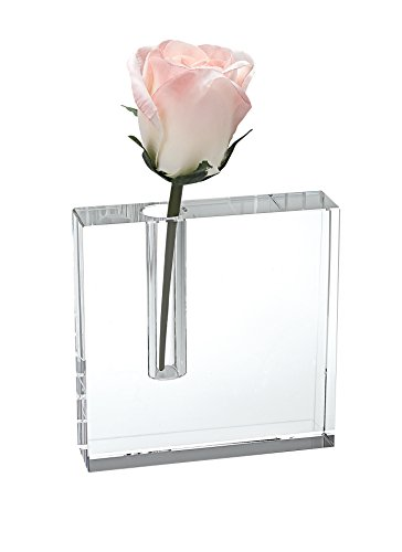Crystal Modern Vase - Badash - The Crystal Block Bud Vase 6x6