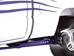 Traction Fabtech Bars - Fabtech FTS62003BK Black Traction Bar