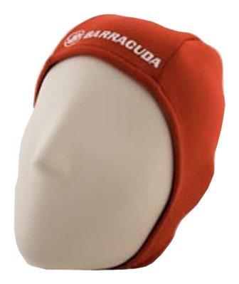 Barracuda Hothead Swim Cap, Orange, Large