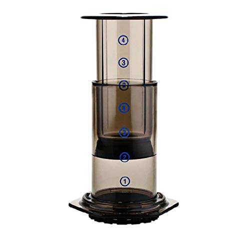 SODIAL Press Coffee Portable Coffee Maker Air Press Espresso Machine With 350Pcs Filter Papers by SODIAL (Image #7)