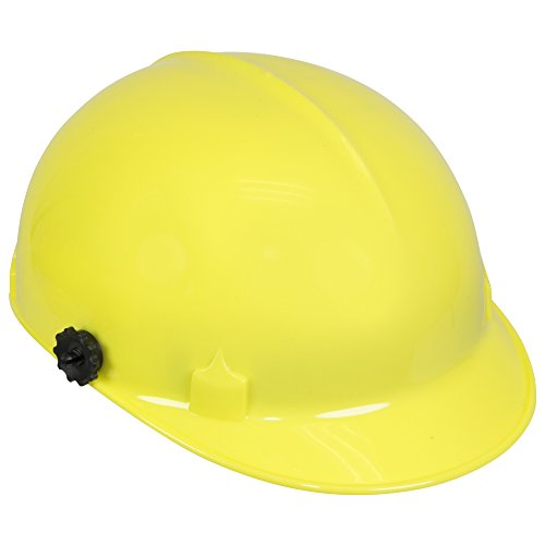 Jackson Safety C10 Bump Cap (20187) with Face Shield Attachment, Safety Hard Hat for Minor Bumps, Absorbent Brow Pad, 4-Pt. Suspension, Yellow, 12 / Case