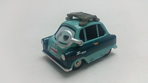 [Mattel Disney Pixar Cars 2 Professor Z With Glass Diecast Toy Car 1:55 Loose New] (Mama Mia Costumes)
