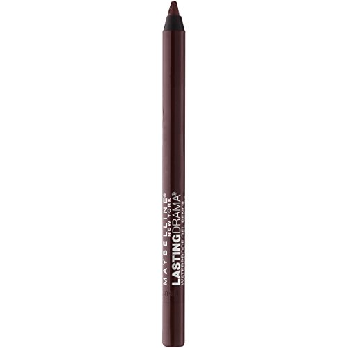 Maybelline New York Eyestudio Lasting Drama Waterproof Gel Eye Pencil, Glazed Toffee, 0.38 Ounce