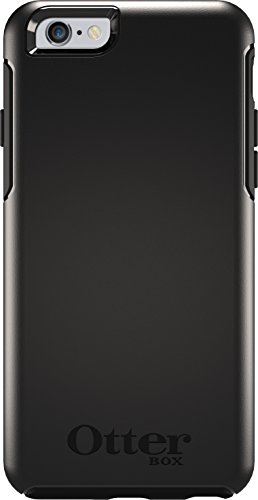OtterBox 77-52290 Symmetry Series Case for iPhone 6/6s - Black (Black Iphone 6 Case)