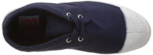 Bensimon Tennis New Nils Femme, Zapatillas Altas para Mujer azul (Marine)