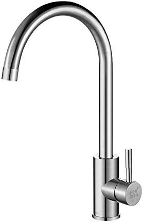 BXU-BG 単穴コールドとホット水ステンレス鋼の水路、ベンドタイプとステンレス鋼の台所の蛇口304人のシェフ