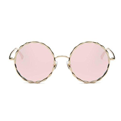 Gafas Gafas Espejo Brillo Sol Espejo sol de Retro A Moda Vintage de Lente Mujeres Hombres Portección Lentes UV unisex Unisex Clásico Gafas Polarizado Aviador wO0ZxqB