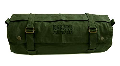 Motorcycle Fork Bag- Waterproof Motorbike Oilskin Canvas Saddlebag Front Rear Tool Pouch (Best Motorcycle Jacket Australia)