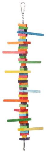 Super Bird Creations 19 by 5-Inch Mini Triangle Teaser Bird Toy, Medium