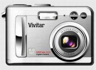 amazon com vivitar vivicam 8400 8 0 megapixel camera with 3x rh amazon com Vivitar ViviCam Xo24 Vivitar ViviCam 7122