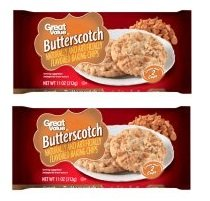 Butterscotch Creamy - Kosher Great Value Butterscotch Flavored Baking Chips, 11 oz Creamy (2 Packs)