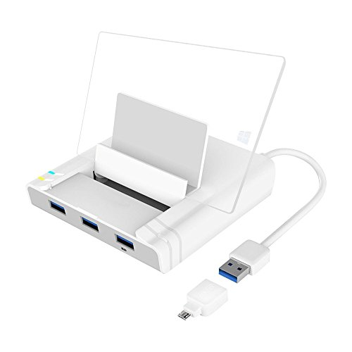 UNITEK USB 3.0 3 Port Hub + Docking Station for...