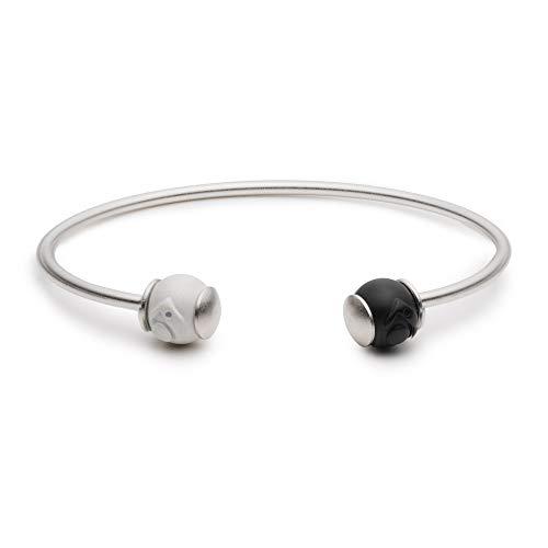 (Lokai Wire Cuff Bracelet - Silver)