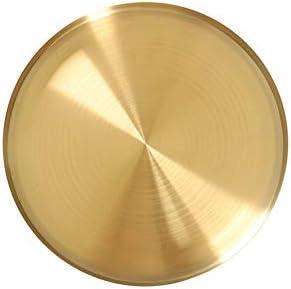 Hankyky Edelstahl Ablageschale Goldene Platte Teller Tablett Schmuck Organizer Handtuchablage Ablageschale Tablett Tee Tablett Obstschalen