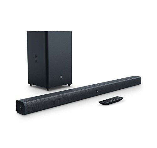 JBL Bar 2.1 Home Theater Starter System with Soundbar and Wireless Subwoofer with Bluetooth by JBL