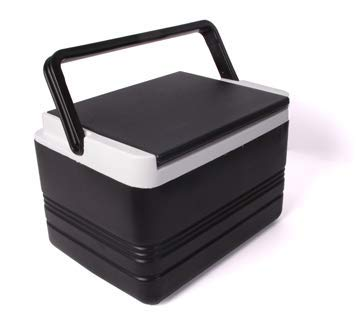 (12-Quart Black Cooler for Golf Carts)