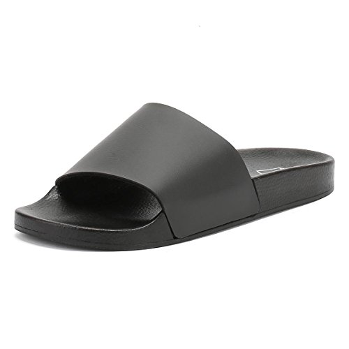 TOWER London Mujer Summer Slides Sandlias Negro