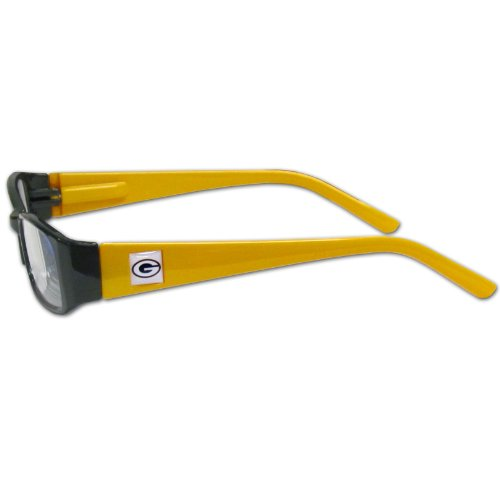 NFL Team Color Reading Glasses (+1.25, Green Bay Packers)