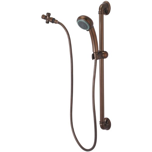 Olympia Faucets P-4420-ORB Handheld Shower Set, Oil Rubbe...