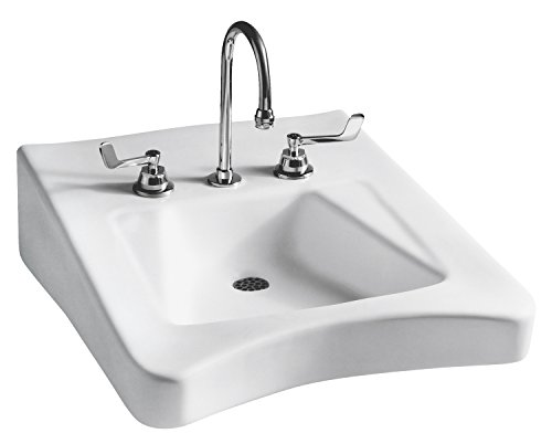 Mansfield Plumbing Wheelchair ADA Wall-Mount Bathroom Sink - 8