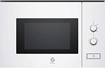Balay 3CP5002B0 - Microondas integrable / encastre, 800 W, 20 L ...