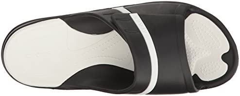 [クロックス] Modi Sport Slide 204144 066 Black/White (M7W9/25cm)