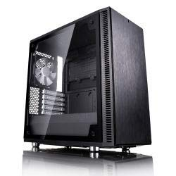 Fractal Design MicroATX Case Cases FD-CA-DEF-Mini-C-BK-TG